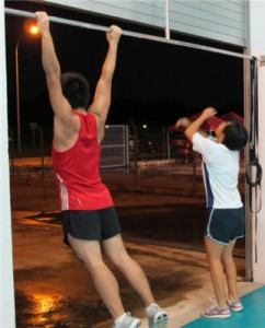CrossFit Pull-ups, Deadlifts and Burpees