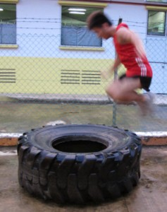 CrossFit Tyre Flip
