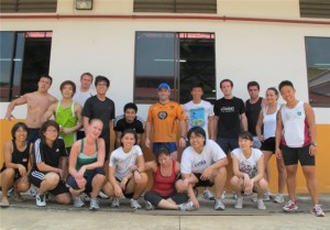 Singapore CrossFit Team Workout: Buy In, the Real Deal, and Cash Out!