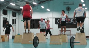 Singapore CrossFit: 400M Run + Front Squat + Box Jump!