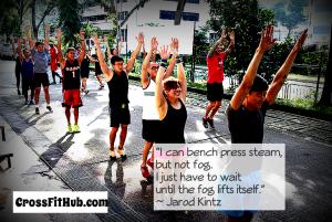 N'attendez pas, venez CrossFit!